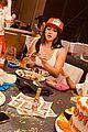 chrissy teigen dresses as hooters waitress for friends birthday 03