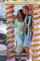pregnant christina milian opening beignet box cafe matt pokora 24