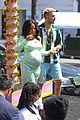 pregnant christina milian opening beignet box cafe matt pokora 72