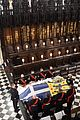queen elizabeth sits solo at prince philip funeral 08