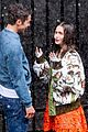 lily collins caught in rain with lucas bravo emily in paris 07