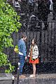 lily collins caught in rain with lucas bravo emily in paris 31