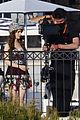 lily collins shooting emily in paris season two 44
