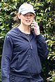 jennifer garner all smiles taking phone call on walk 04