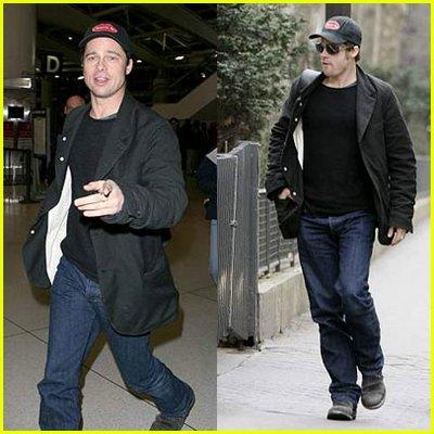 Brad Pitt Paris
