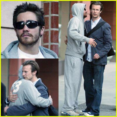 Jake Gyllenhaal In A Hoodie