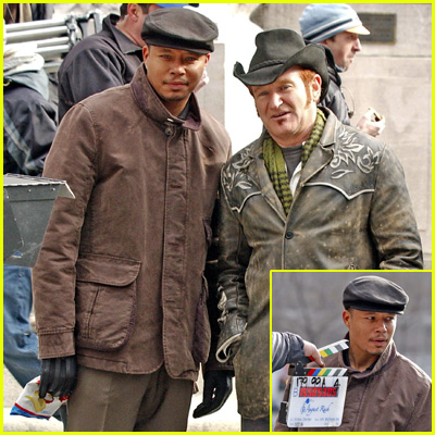 Terrence Howard in August Rush