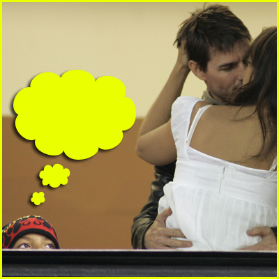 TomKat Kissing