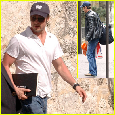 Brad Pitt in Dominican Republic