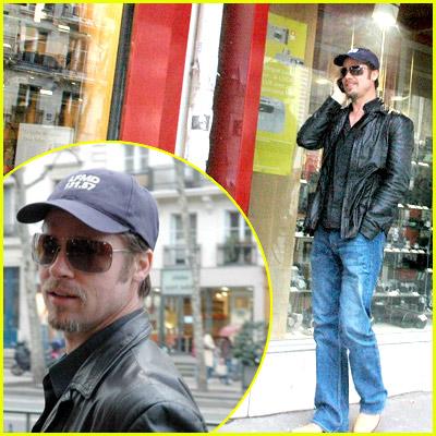 Brad Pitt Shopping