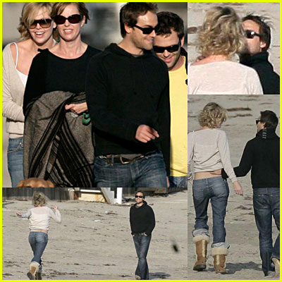 Charlize Theron and Stuart Townsend Together Again