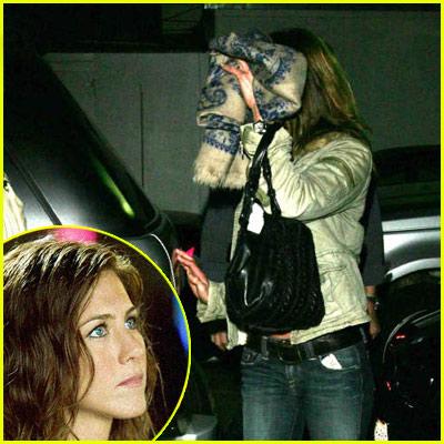 Jennifer Aniston Paparazzi