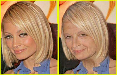 Nicole Richie In Her Old Age