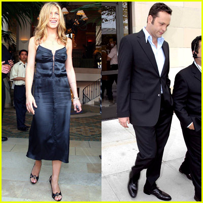 Jennifer Aniston and Vince Vaughn Pictures
