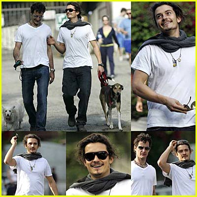 Orlando Bloom Dog