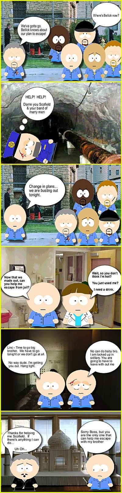 Prison Break South Park Style