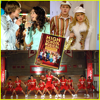 High School Musical DVD Giveaway
