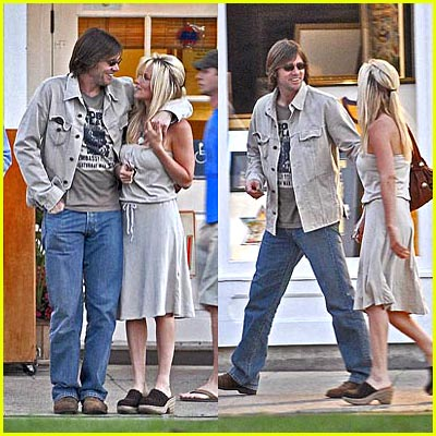 Jim Carey & Jenny McCarthy Holding Hands