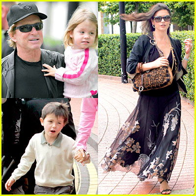 Michael Douglas' Kids