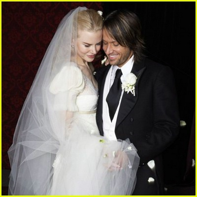 Nicole Kidman Wedding Pictures