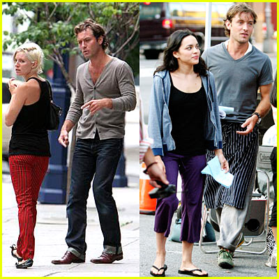 Jude Law & Sienna Miller Pictures