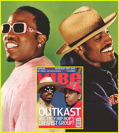 Outkast in July 2006 Vibe magazine