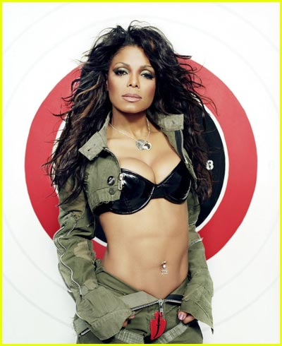 Janet Jackson Topless