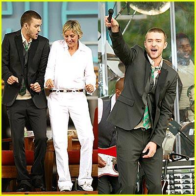 Justin Timberlake: Hospital Visit