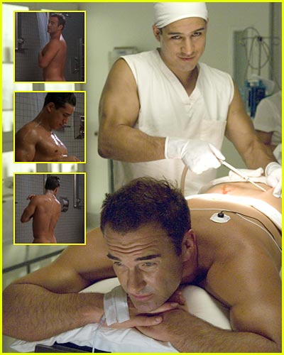 Pictures have been surfacing of Mario Lopez's guest appearance on Nip/Tuck.