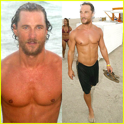 Matthew McConaughey Muscles