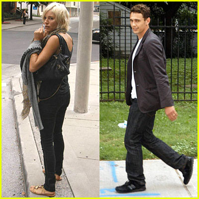 Sienna Miller & James Franco Spotted Together Again