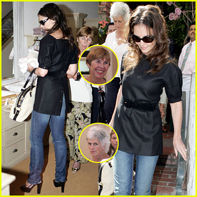 Katie Holmes @ THE IVY