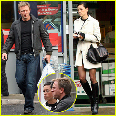 Daniel Craig & His Real Bond Girl
