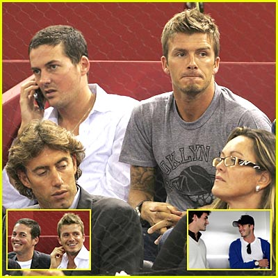 Becks & His Best Bud Do Tennis Tourney