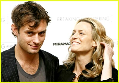 Jude Law Looks Mischievous