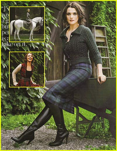 Rachel Weisz: Crazy for Celtic