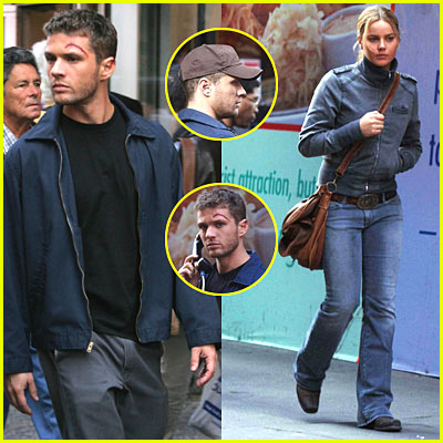 Ryan Phillippe Invades Times Square
