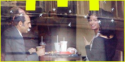 Angelina Jolie Lovin' it at McDonald's
