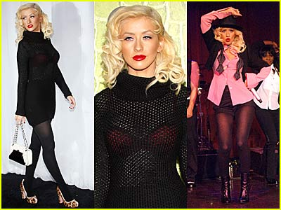 Christina Aguilera's Sheer Showstopper