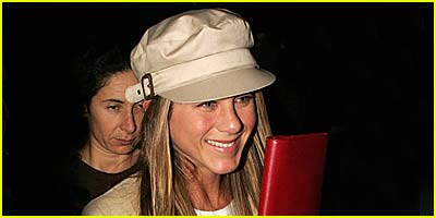 Jennifer Aniston Storms LAX Airport
