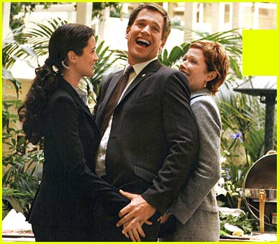 Take a Bite out of a Michael Weatherly Sandwich!  Munch, Munch
