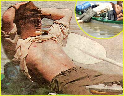 Prince Harry Soaks in the Sun