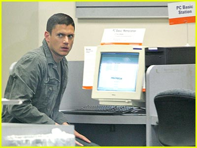 Wentworth Miller: Computer Geek?