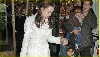 Jolie in New York City