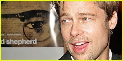 Brad Pitt at The Good Shepherd Premiere