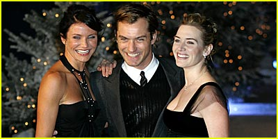 Cameron, Jude & Kate on 'Holiday'