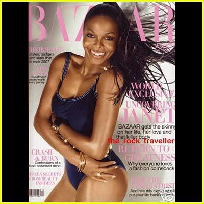 'Bazaar' Uncovers Janet Jackson