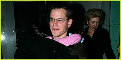 Matt Damon Loving London