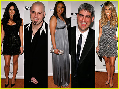 American Idols' Pre-Grammy Bash