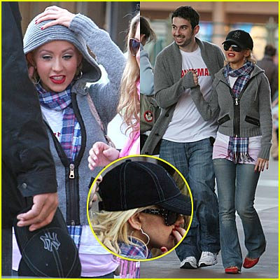 Christina Aguilera's Happiest Place on Earth